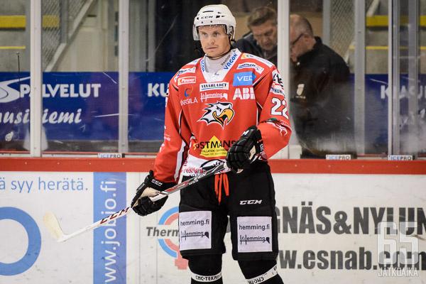 Samuli Kivimäki tehoili lokakuussa.