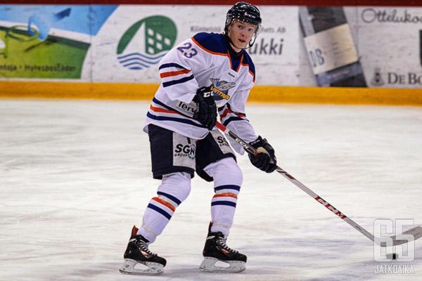 Valtteri Heikkilä toimii ensi kaudella K-Vantaan apukapteenina.