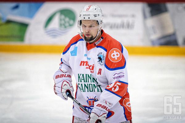 Heikkinen teki mittavan pelaajauran Hokin takalinjoilla.