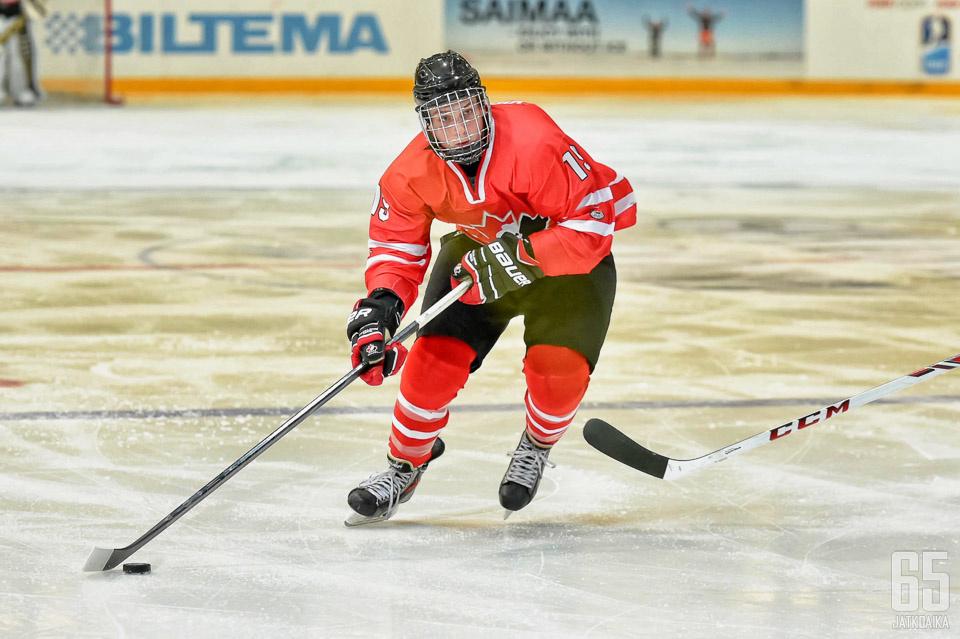 Virtanen nähtiin myös alle 18-vuotiaiden MM-kisoissa Suomessa viime kaudella.