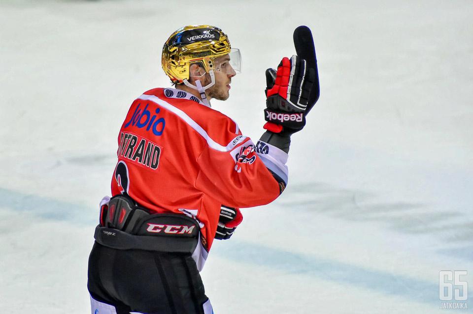 Charles Bertrand oli viime kaudella joukkueen arvokkain pelaaja.