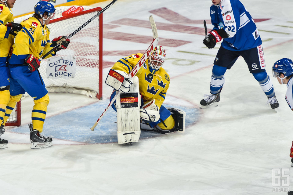 Karlsson edusti Ruotsia vain Euro Hockey Tourilla.