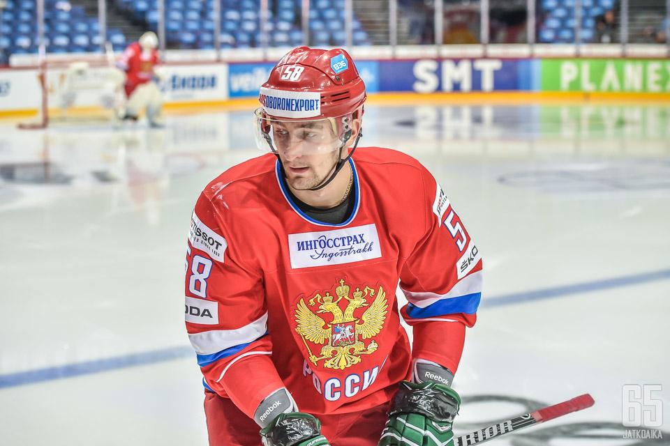 Anton Slepyšev onnistui kahdesti maalinteossa.