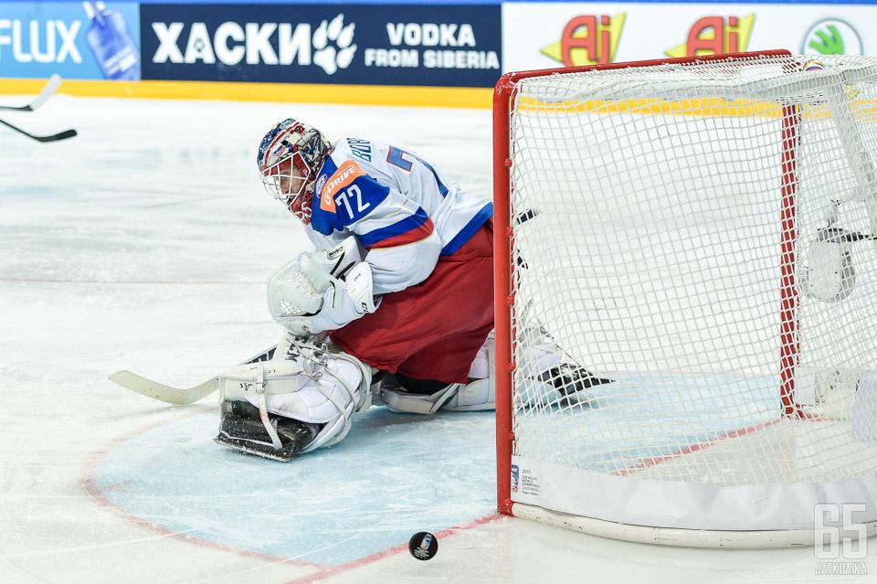 Sergei Bobrovski on Venäjän ykkösmaalivahti.