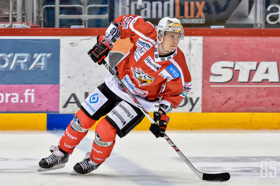 Heikkinen aloitti kautensa Hokissa.