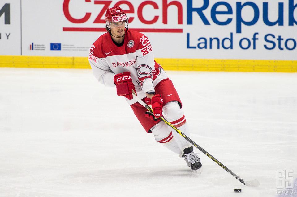 Lauridsen on edustanut maataan kolmissa MM-kisoissa.