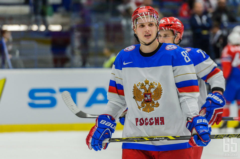 KHL:n pörssikärki Vadim Šipatšov on mukana Venäjän joukkueessa.
