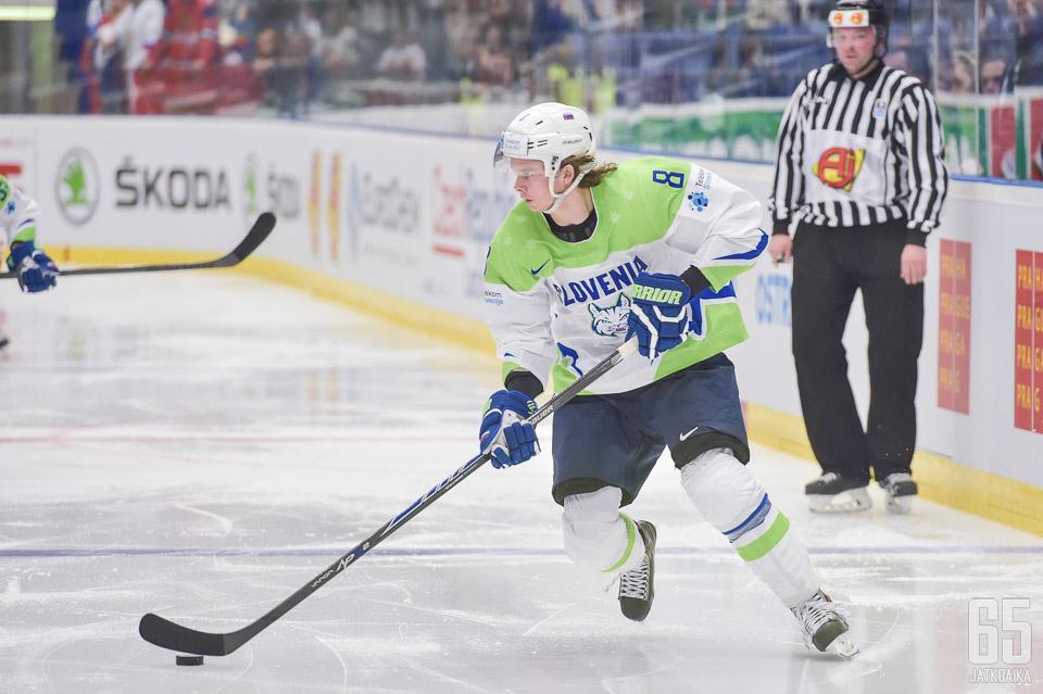 Ziga Jeglic kuuluu maansa avainpelaajiin vuoden 2018 talviolympialaisissa.
