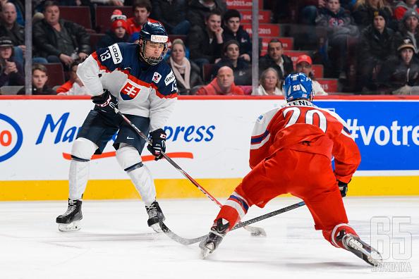 Bondra pääsi pelaamaan Kanadassa maansa alle 20-vuotiaiden mukana.