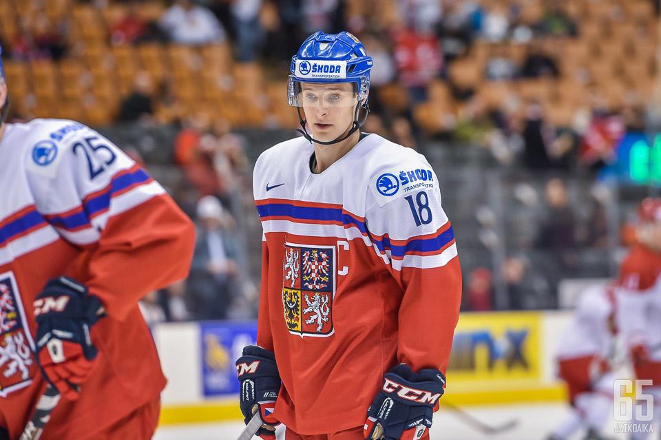 Dominik Kubalík on pelannut Tšekin paidassa kaksissa edellisissä MM-kisoissa.