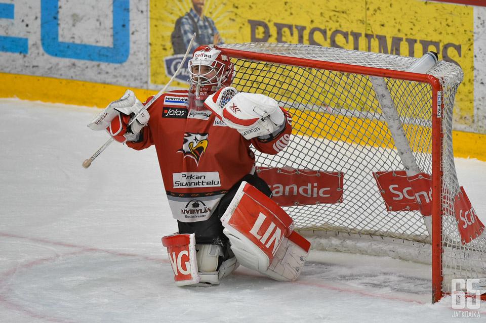 Mika Järvinen oli joukkueensa parhaimmistoa.