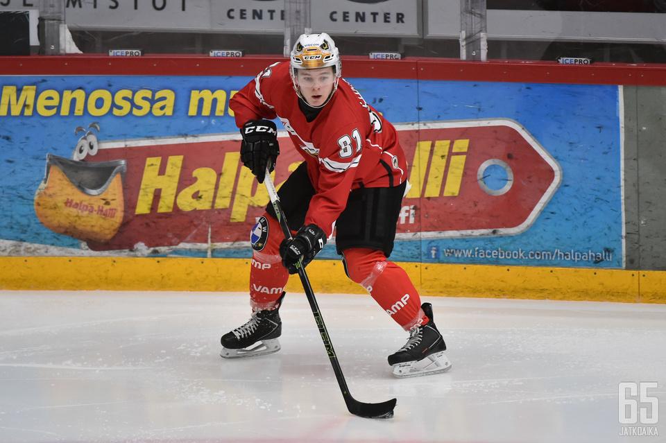 Lundell ehti edustaa Sportin junioreita viiden kauden ajan.