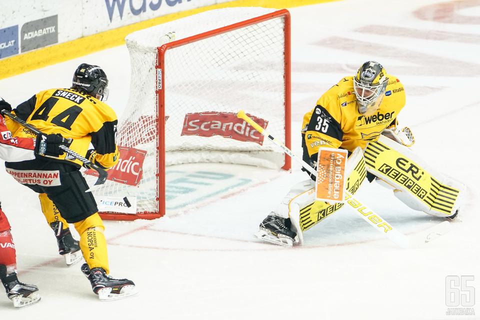 Frans Tuohimaa ryösti voiton SaiPalle.
