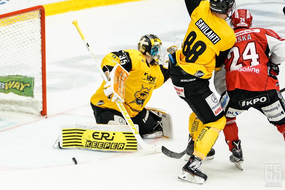 SaiPan ja Sportin välille on taas odotettavissa tiukkaa vääntöä.