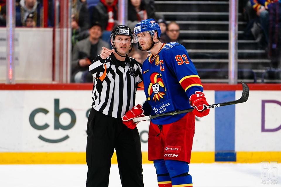 Alkaneella KHL-kaudella pelataan useasti myös maanantaisin.