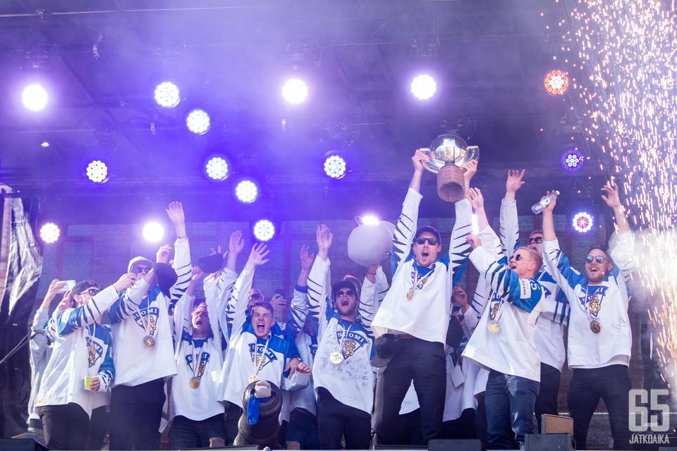 Suomi jatkaa äärimmäisen harvinaislaatuisesti toisen vuoden hallitsevana maailmanmestarina.