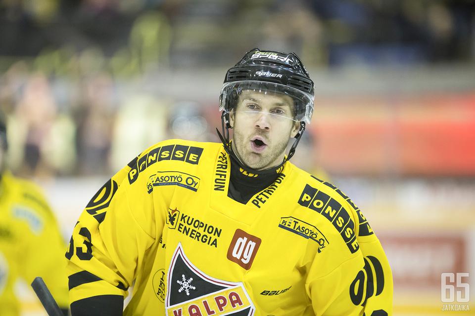 Sami Mutanen edusti neljä edellistä kautta KalPaa.