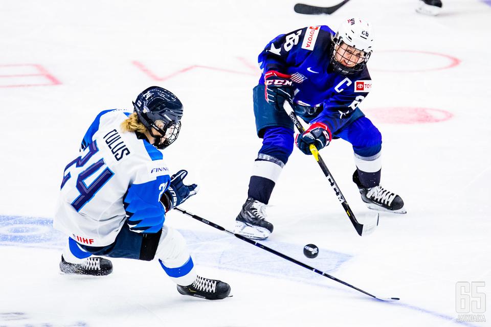 Suomi vastaanotti Yhdysvaltojen vyörytyksen lisäksi erikoisen osuman.