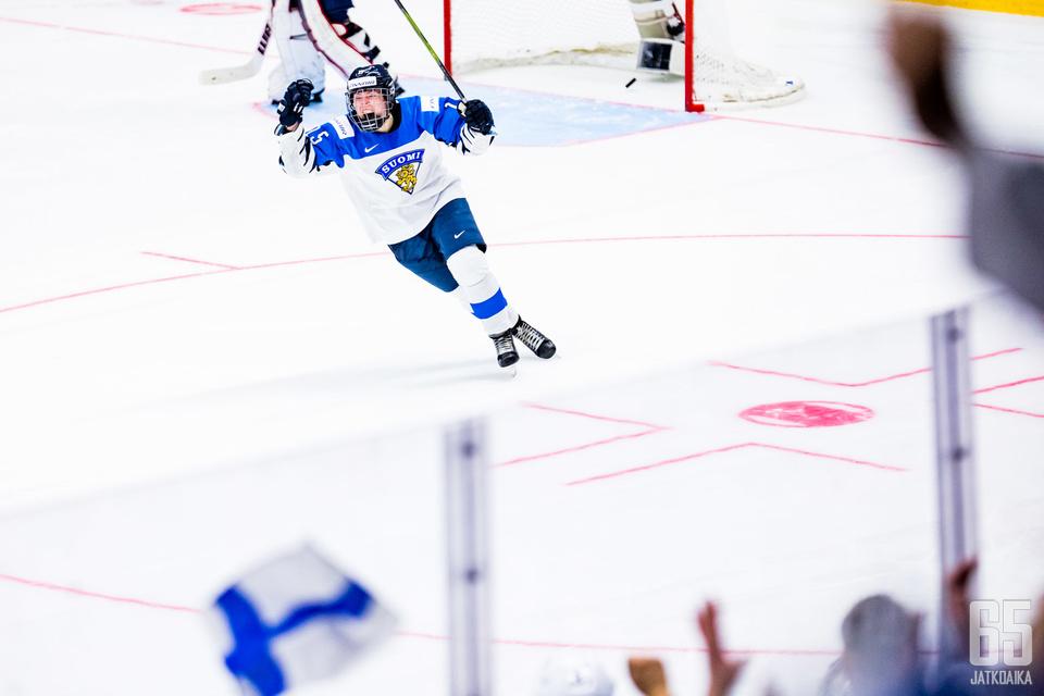 Minnamari Tuominen onnistui voittolaukauskilpailussa.