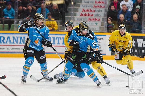Pelicans-SaiPa vääntävät Tallinnassa 26.1.