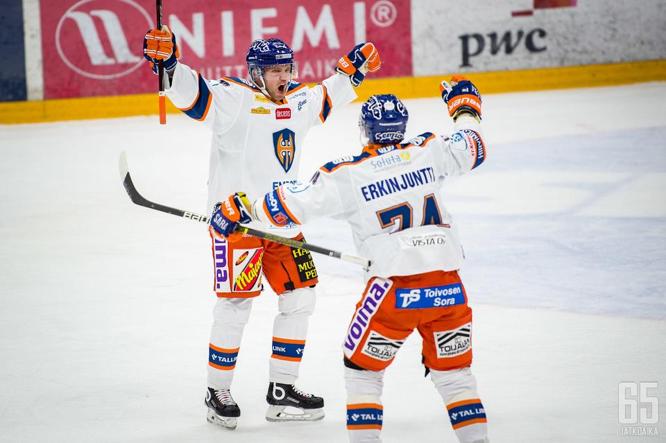 Valtteri Kemiläinen rokotti entistä seuraansa.