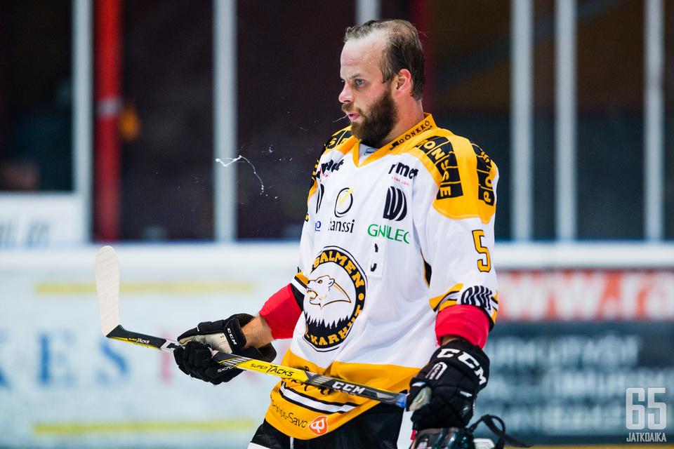 IPK:n kapteeni Otto Huttunen oli kotijoukkueen peliaikakuningas keräten plakkariin myös syöttöpisteen.
