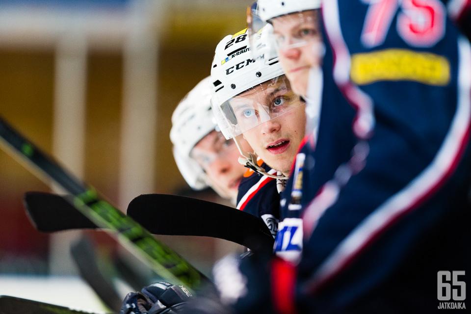 Kasper Piitulainen tähtää tulevaisuudessa Liigaan.