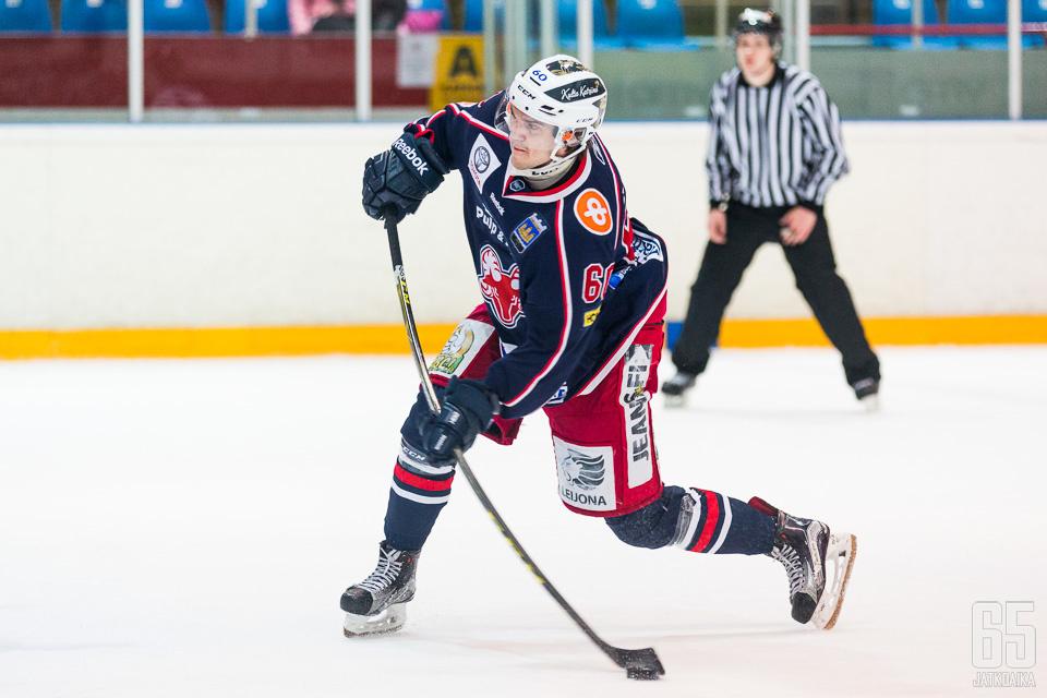 Ventelä pelasi vahvan kauden Savonlinnassa.
