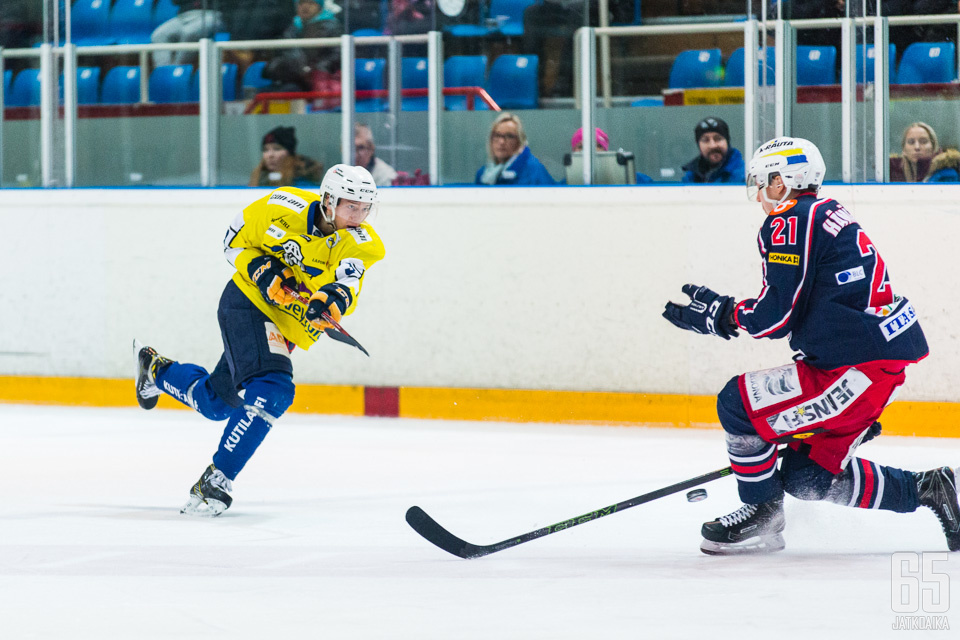 Talvisalo oli voittamaton RoKille myös viime kaudella.