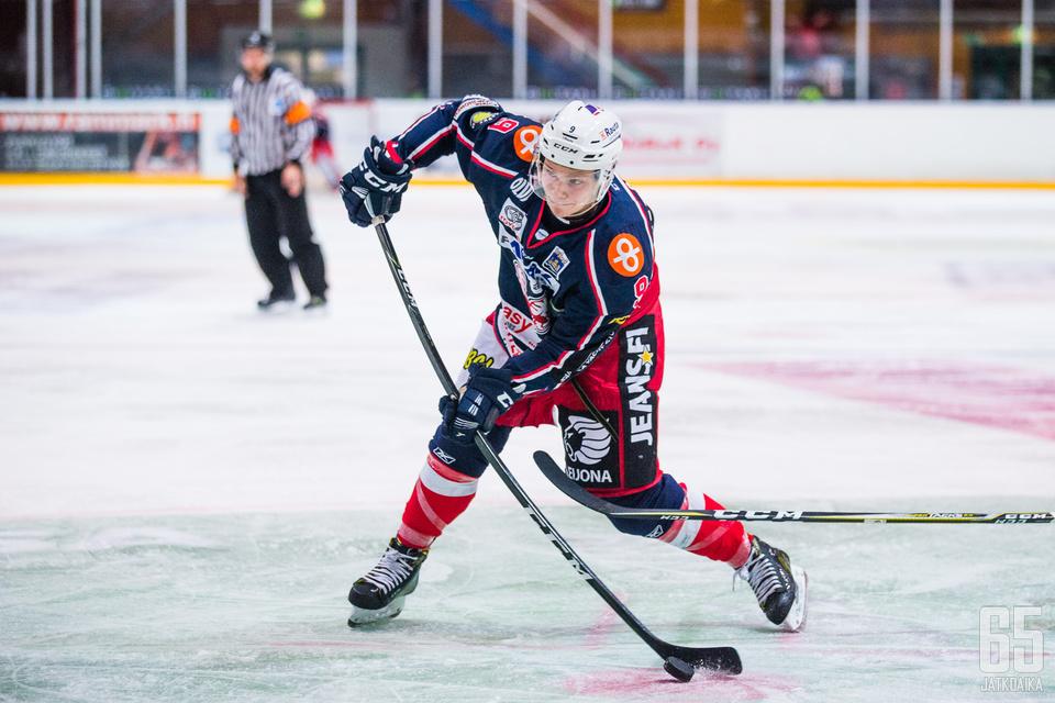 Saramäki kiekkoili kaksi edelliskautta SaPKossa.