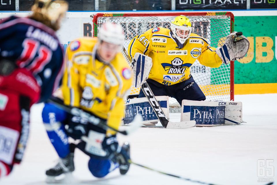 Rasmus Reijola antautui lopulta kuudesti.