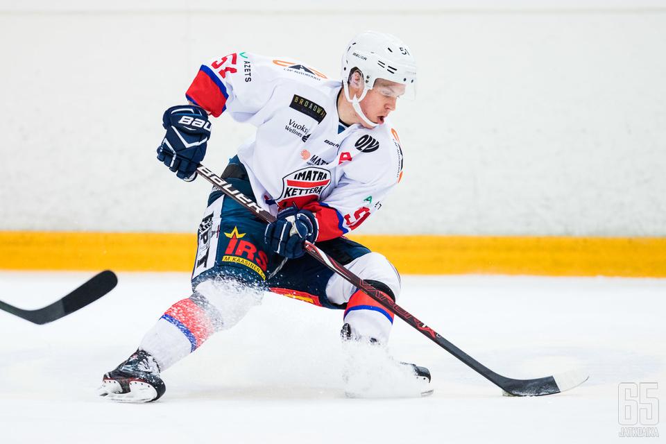 Kumpulainen esiintyi viime kaudella Ketterän paidassa.