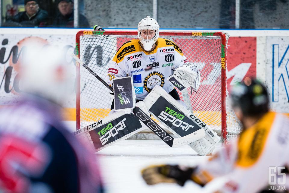 IPK:n keskiviikkoisen ottelun viimeinen maali merkittiin maalivahti Aleksi Autiolle.