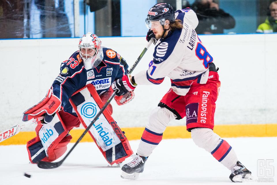Timi Lahtisen maali muodostui lopulta jonkinasteiseksi käännekohdaksi ottelulle.