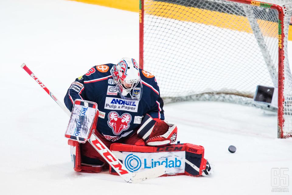 Roope Urpolahti oli SaPKon voiton takuumies.