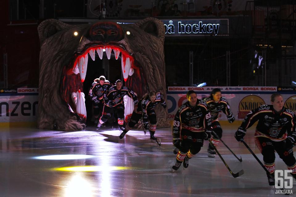 Luleå Hockey on parhaillaan sarjassa kolmantena.