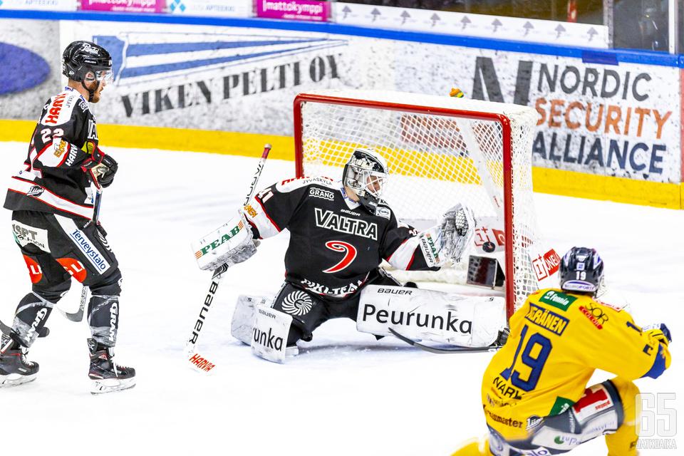 Janne Keränen on ollut tuttu päänvaiva JYPille.