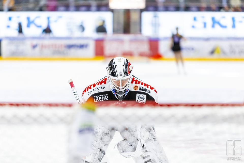 Eetu Laurikainen oli JYPin paras pelaaja.