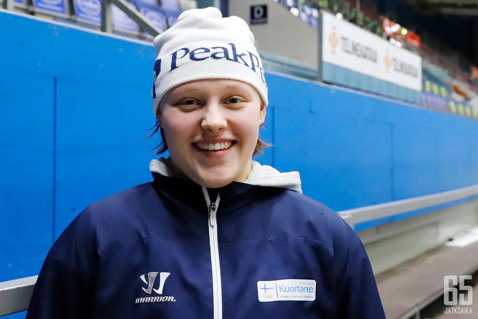 Joulun tienoilla 17 vuotta täyttävä Viivi Vainikka pelaa läpimurtokauttaan.