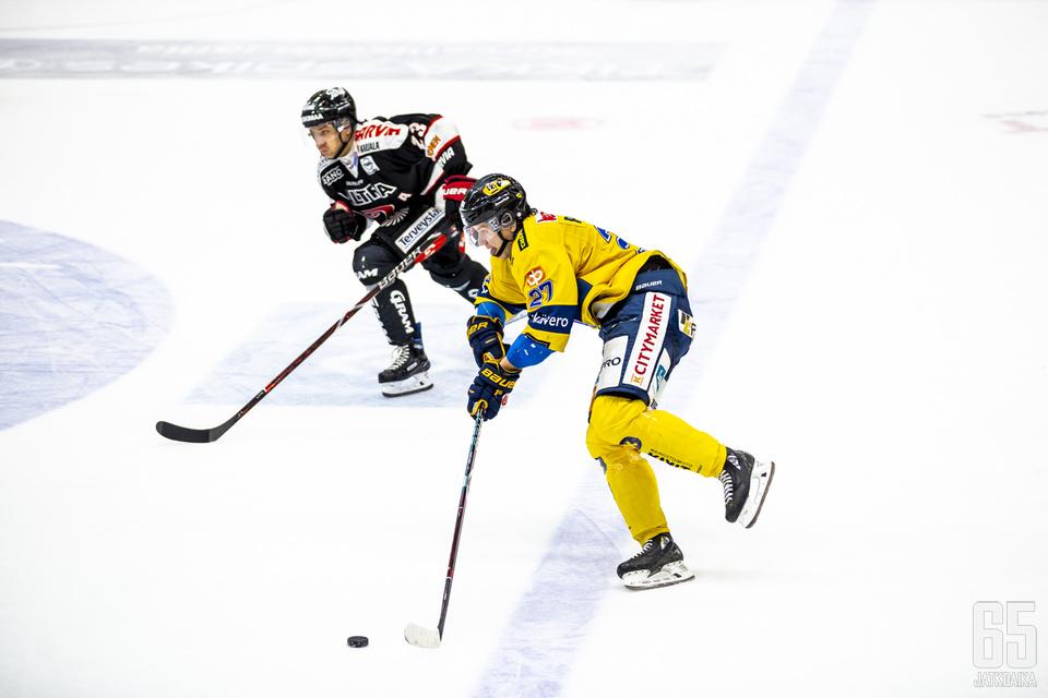 Mika Partanen oli Jukureiden suurimpia onnistujia.