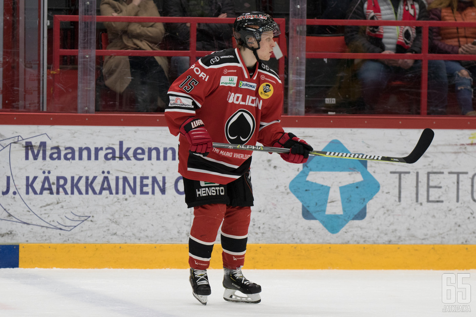Aleksi Varttinen on murtautunut tämän kauden ässäpakistoon.