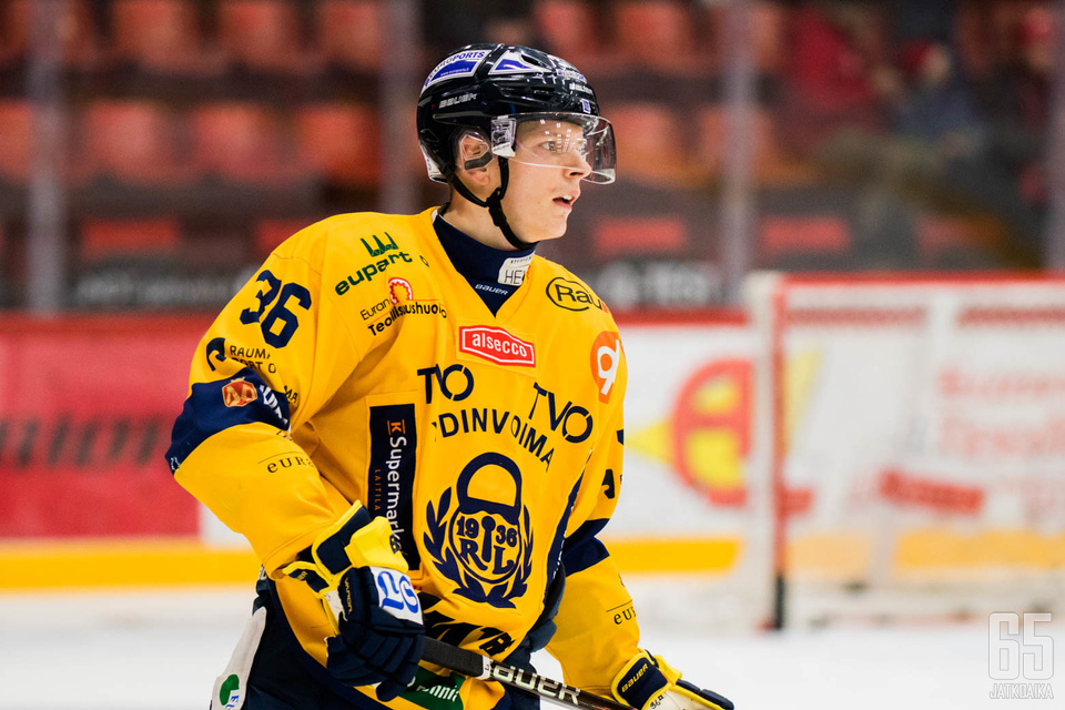 27-vuotias puolustaja pelasi viime sesongilla Raumalla.