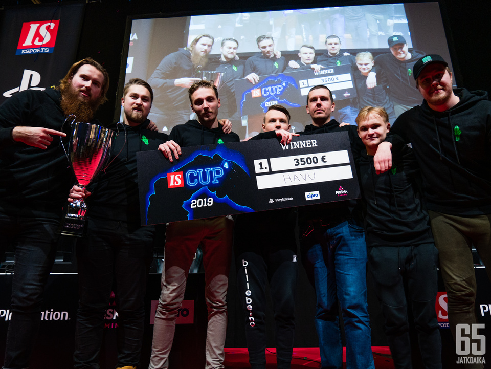 IS Cupin voittaja HAVU Gaming