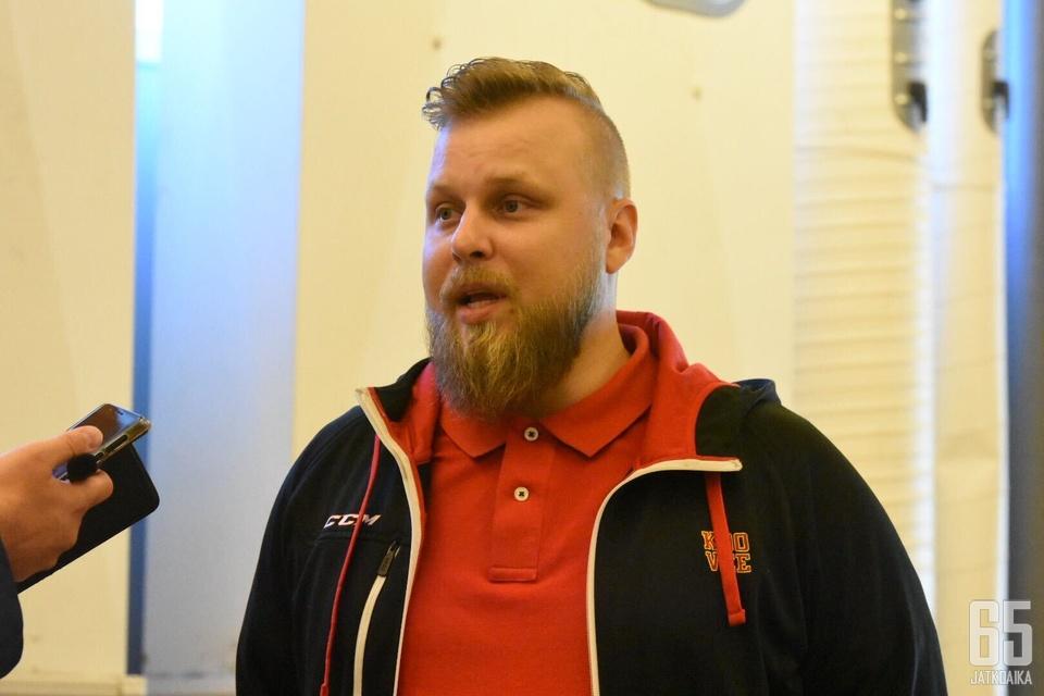 34-vuotias Pekka Hemmilä aloitti toisensa kautensa Kooveen toimitusjohtajana.