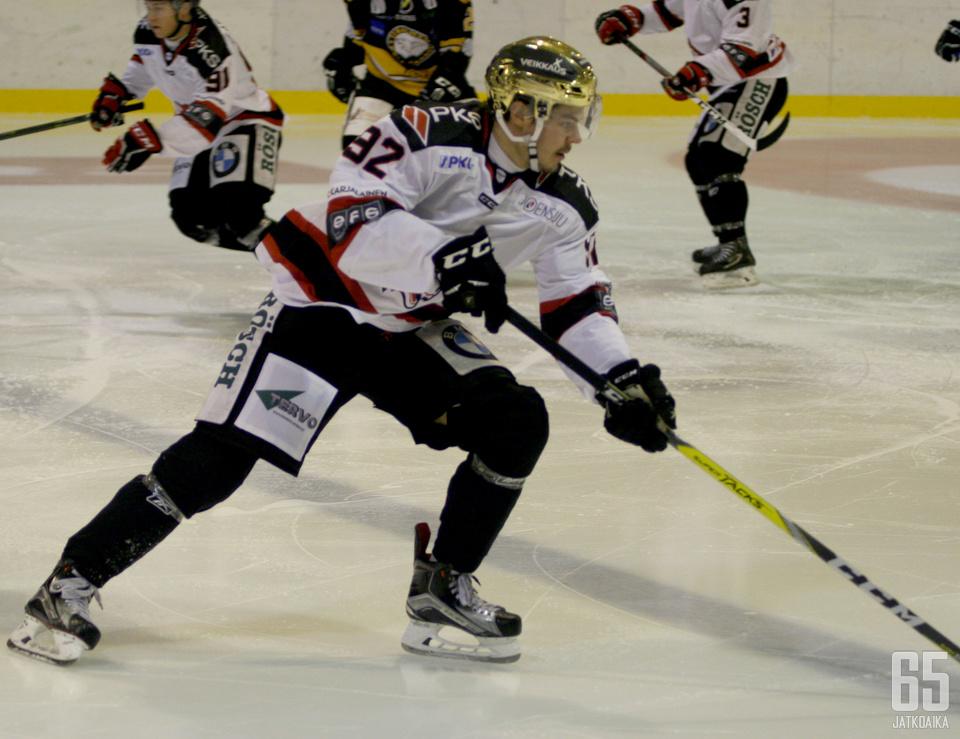 Huhdanpää pelasi tehokkaan kauden Joensuussa.