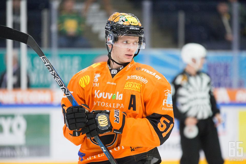 Virtanen jatkaa uraansa Kuopiossa.