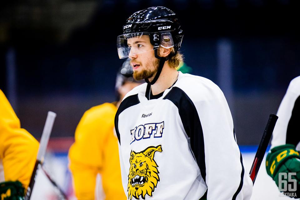 Olli Vainio ei ehtinyt tällä kaudella pelata Ilveksessä otteluakaan.