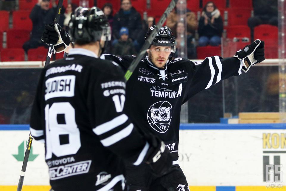 Jonne Virtasella on sopimus TPS:n kanssa myös ensi kaudesta.