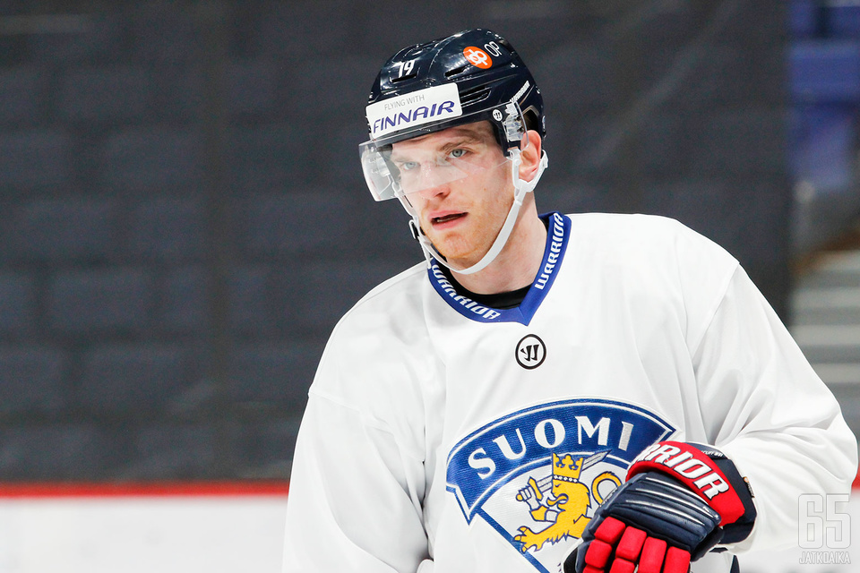 Joonas Nättinen valittiin ensimmäisen kerran kotiturnaukseen.