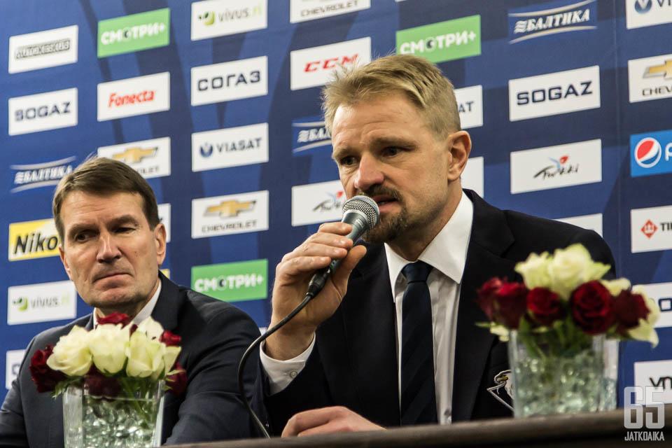 Petri Matikaisella on ollut raskas kausi Slovakiassa.